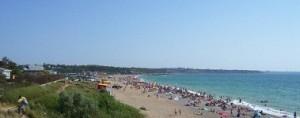 пляж семейный Любимовка